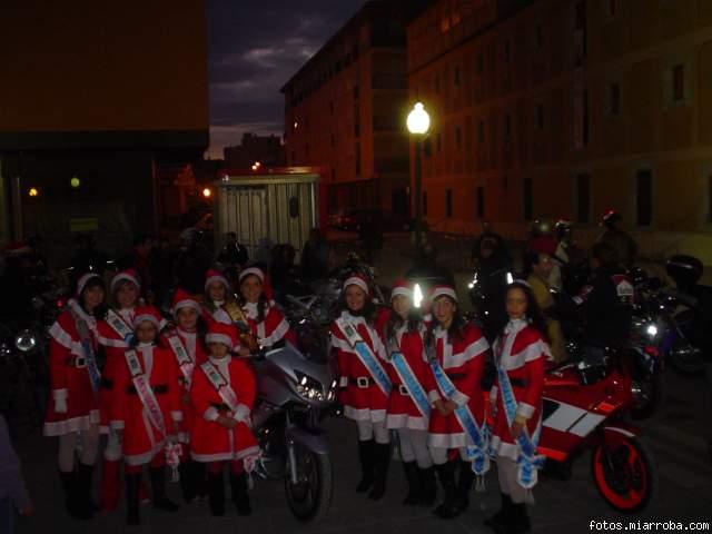 Damas y Reina  fiestas en Navidad con la Norge