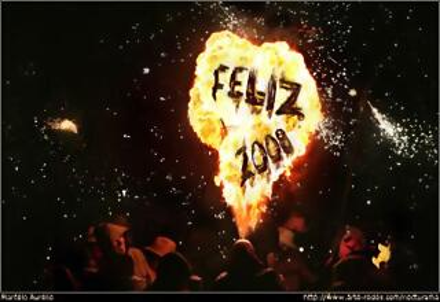 Feliz 2008. Foto Marcelo Aurelio
