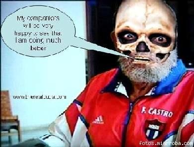 Fidel  enfermo