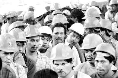 Trabajadores Foto: autor desconocido