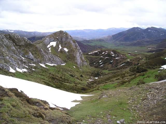 Valle de San Emiliano desde el Pto. de Ventana