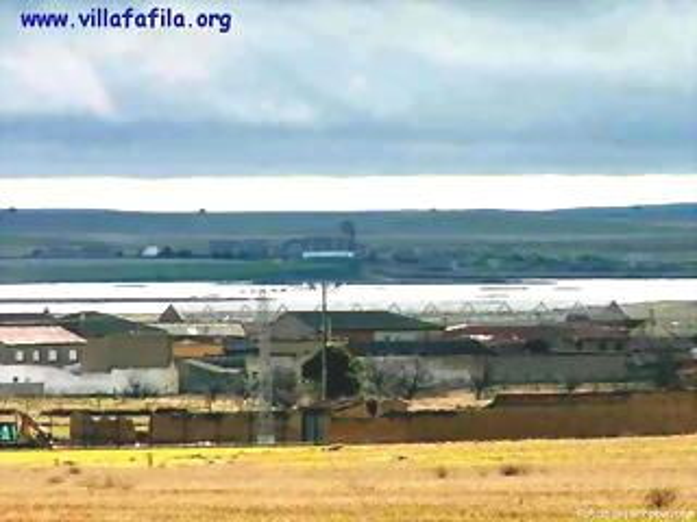 Laguna Grande y Otero visto desde las bodegas