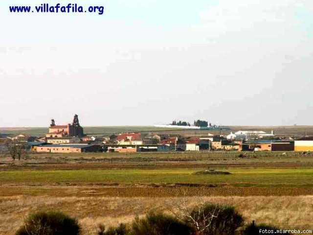 Villafáfila desde el Centro de Interpretación