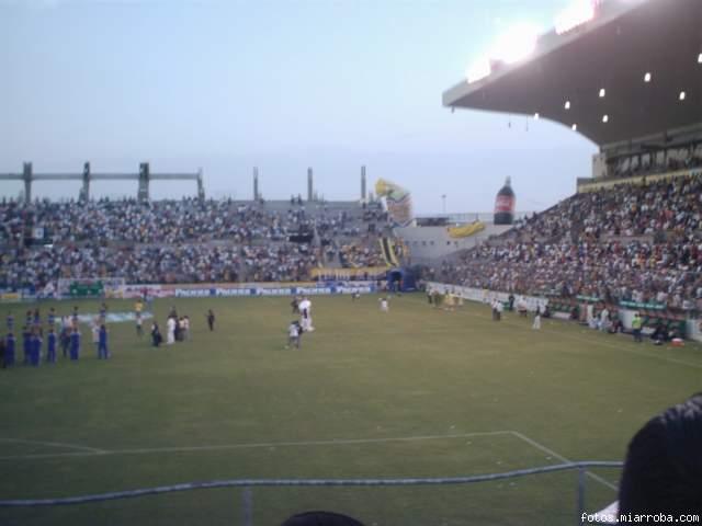 Juego contra el Veracruz