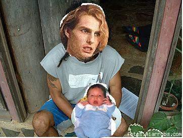 Tom Cruise se zampa a su churumbel con cáscara y todo