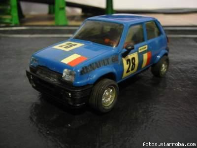 Renault 5 Azul