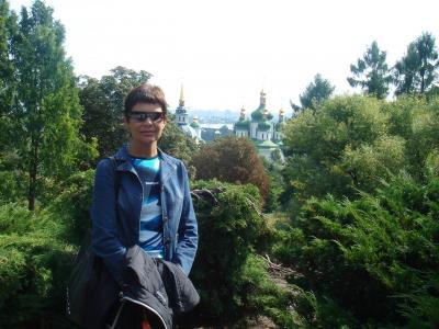 Rosa en Kiev, va a hacer 2 años