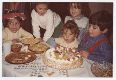 Dani, en su 2º cumpleaños