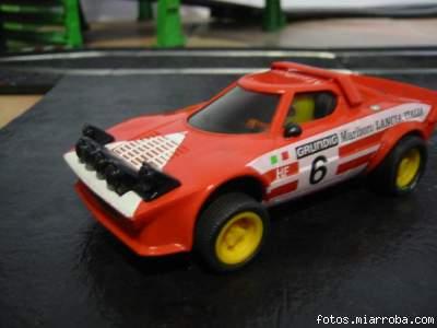 Lancia Stratos Rojo
