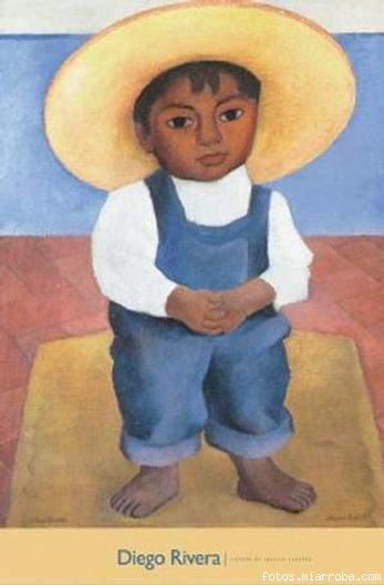 Niño de Diego Rivera