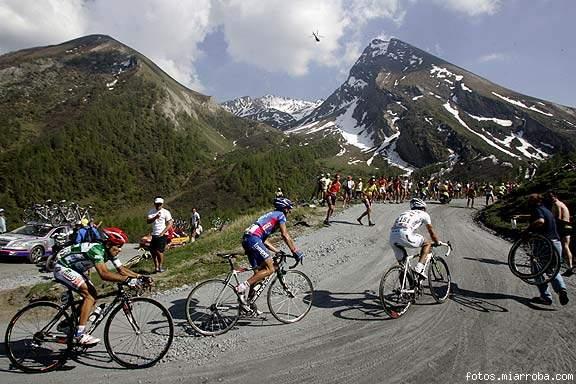 Parte final del Colle delle Finestre (Giro 2005)