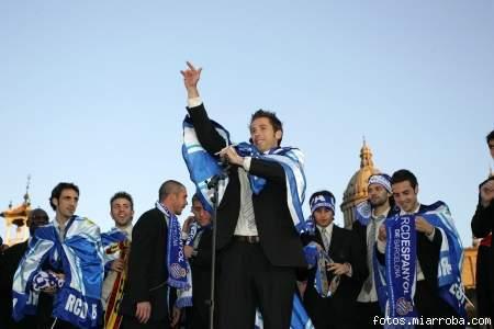 Tamudo con la Copa del Rey conquistada en el 2006