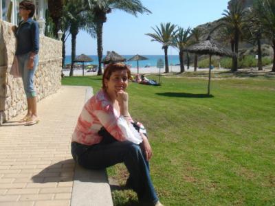 Patricia y Rosa, Playa del Minarete