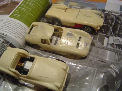 Triumph + Ferrari 250TR + Maserati 151