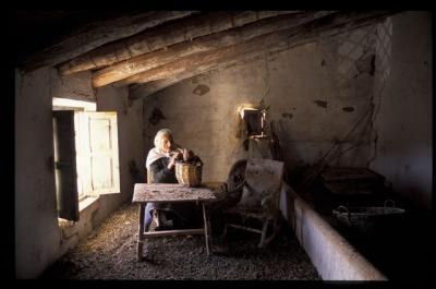 Casas viejas. Foto F. Medrano