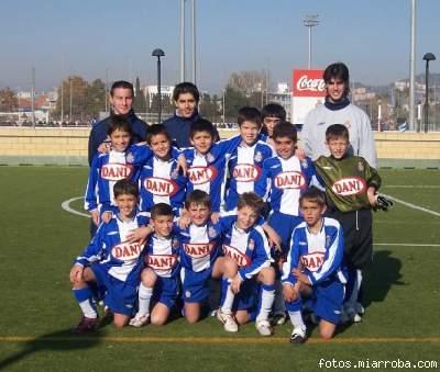 El Benjamí A de la temporada 2005-06