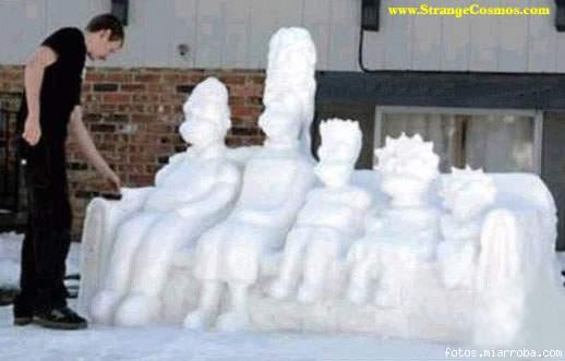 Simpsons nieve