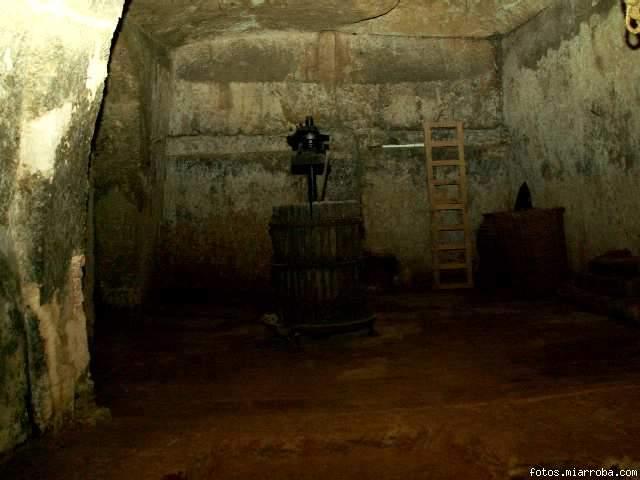 Interior de una bodega