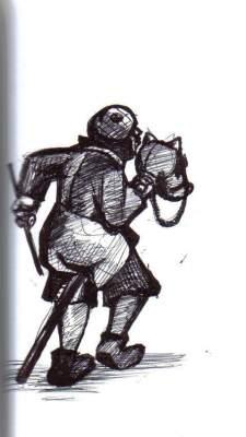 Dibujo de Miguel Pencieri