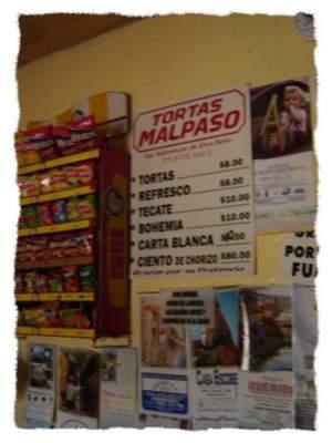 Tortas Malpaso