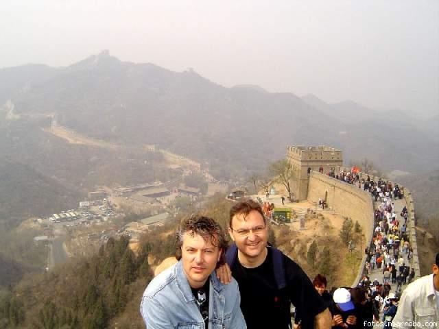 Alberto & Dani en la Muralla China