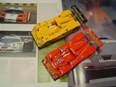 Ferrari 333SP - Le Mans 1995 y 1998