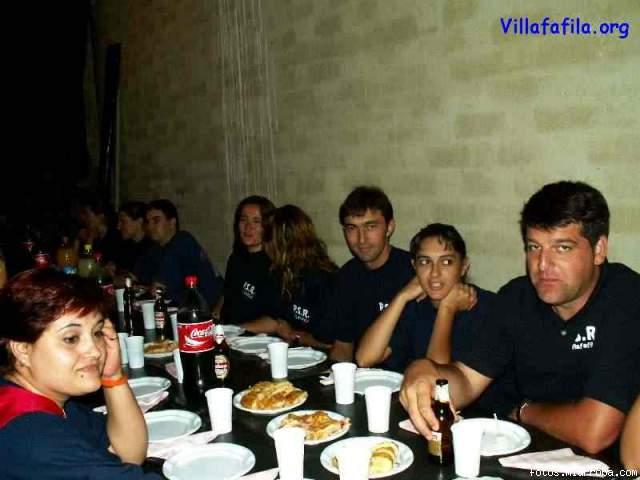 En una de las interminables meriendas Agosto 2005