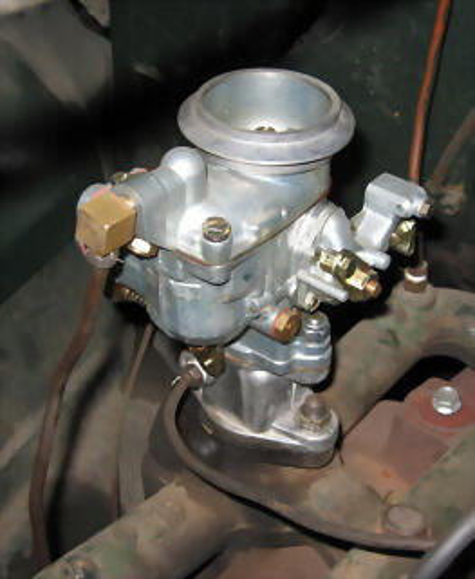 Carburador Solex en Studebaker Champion 1941