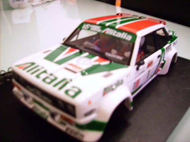 Fiat 131 Scalextric-Altaya