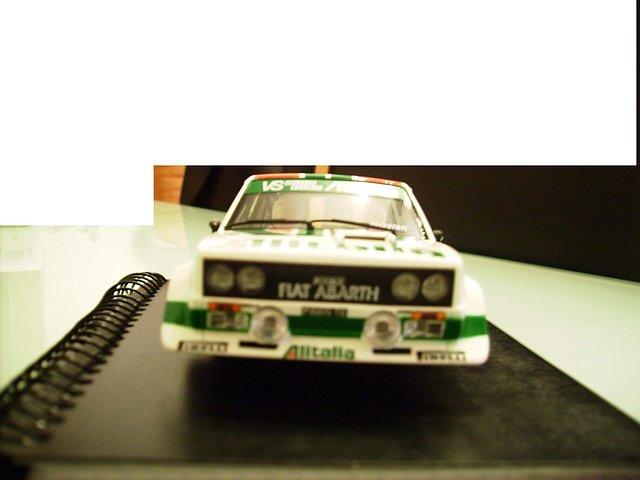 Fronta Fiat 131 Scalextric-Altaya