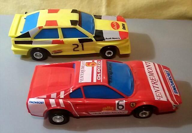 Polistil Audi & Ferrari GTO (2)