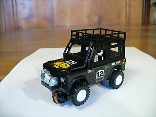 land rover negro sts