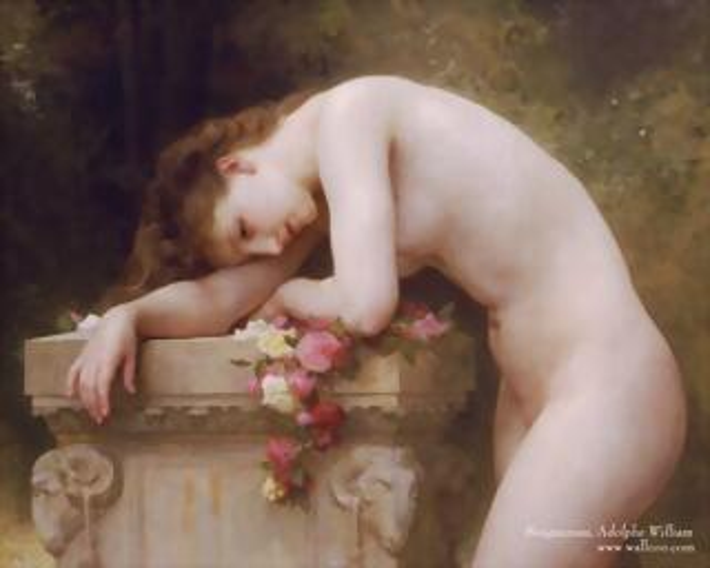 William-Bouguereau-paintings-Douleur_damour_wallcoo_com