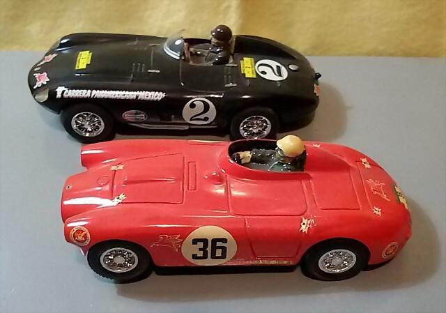 BUM Lancia D24 & Ferrari 750 Monza (1)