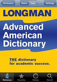 Colecci�n de Longman Advanced American Dictionary