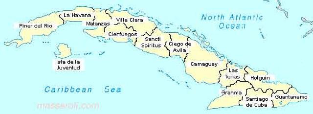 mapacuba