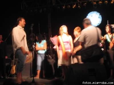 Coronación  Miss Turismo Fiestas  Agosto 2006 (2)