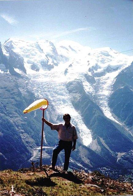 Mariano Estrada, Mont Blanc, Chamonix