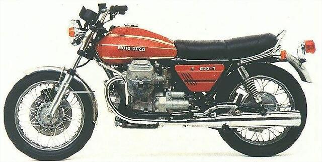 Moto Guzzi 850 T 73