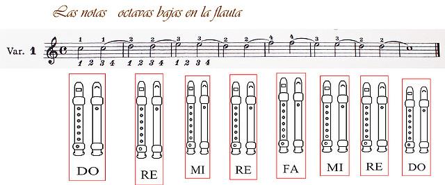 1 variacion flauta