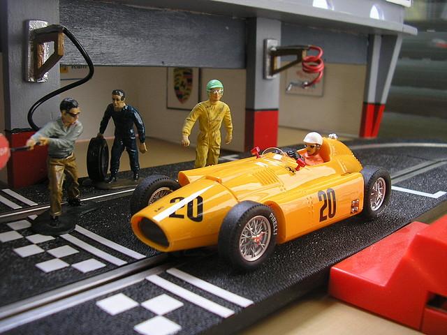Lancia Ferrari D-50