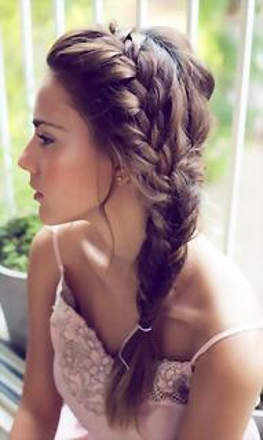 Algunas Sugerencias de Peinados con Trenzas Cola Trenzada Ornamento