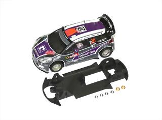 SP601006 body + chassis Citroën DS3 WRC -CARRERA-