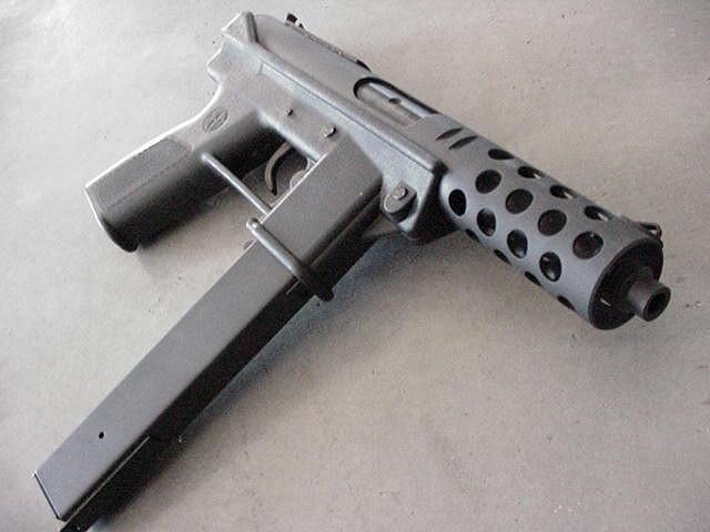 pistola metralladora automatica de alto poder destructivo