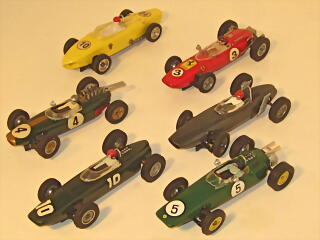 Supershells F-1 Cars