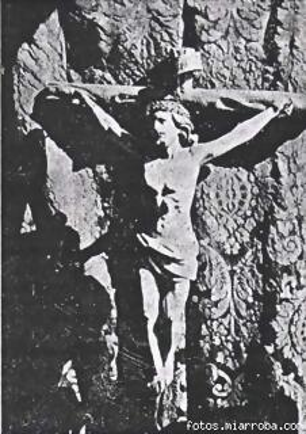 Santo Cristo Escucha Gérgal en Catedral Almería