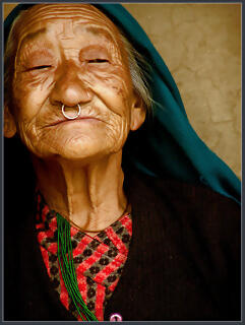 Una señora viejuna