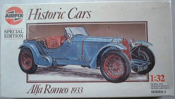 Airfix Alfa Romeo 1933