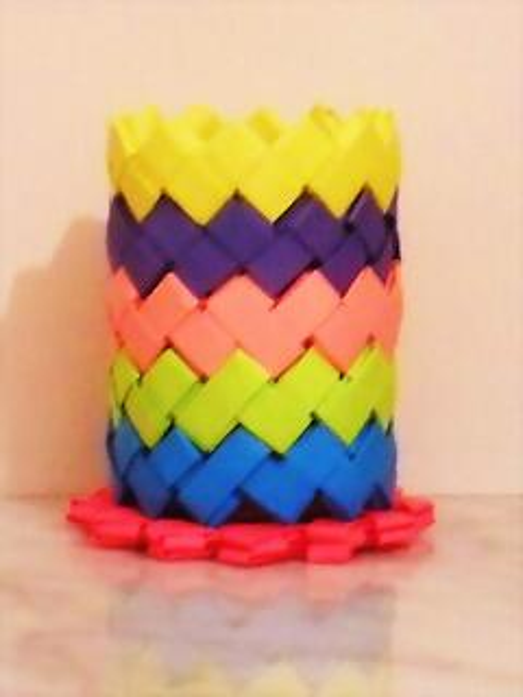 Lapicero aros de colores