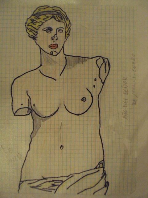 Venus de Milob polícroma